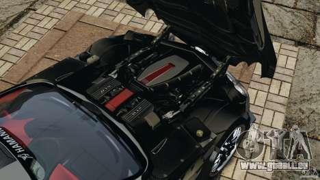 Mercedes-Benz SLR Volcano 2008 Hamann v1.0 pour GTA 4 est une vue de l'intérieur