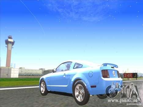 Ford Mustang Pony Edition pour GTA San Andreas laissé vue