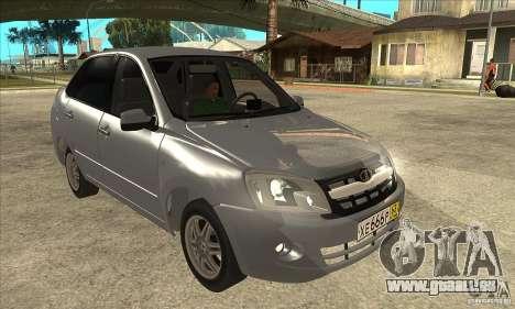 2190-VAZ Lada Granta Grant pour GTA San Andreas vue arrière