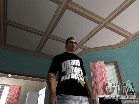 Le t-shirt GTA 5 pour GTA San Andreas deuxième écran