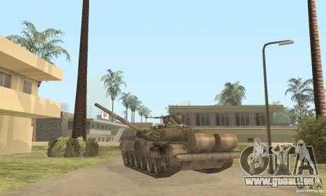 T-90 A pour GTA San Andreas vue de droite