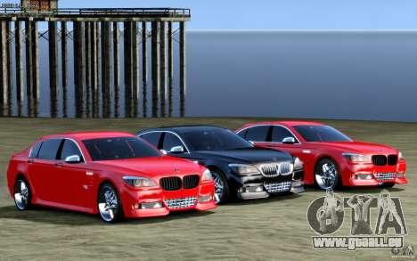 Écrans de menu et démarrage BMW HAMANN dans GTA  pour GTA San Andreas troisième écran