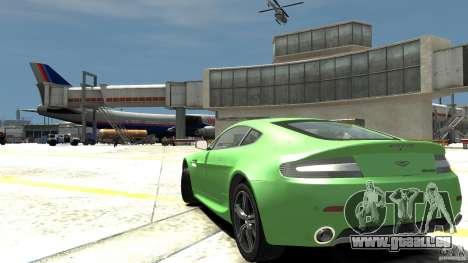 Aston Martin V8 Vantage N400 für GTA 4 hinten links Ansicht