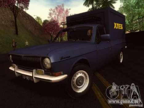 GAZ 24-12 pain van pour GTA San Andreas