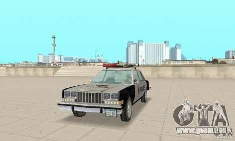 Dodge Diplomat 1985 Police pour GTA San Andreas