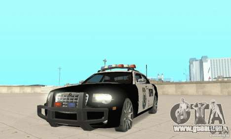 Chrysler 300C Police v2.0 pour GTA San Andreas