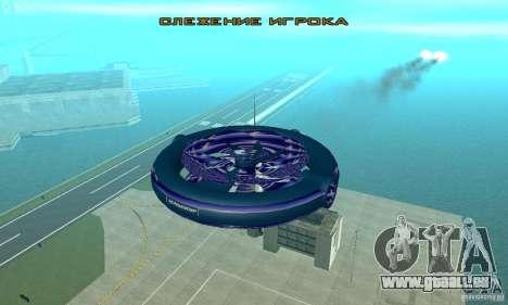 Chuckup pour GTA San Andreas vue de côté