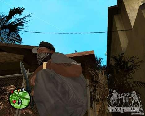 Couteau de Counter-strike pour GTA San Andreas deuxième écran