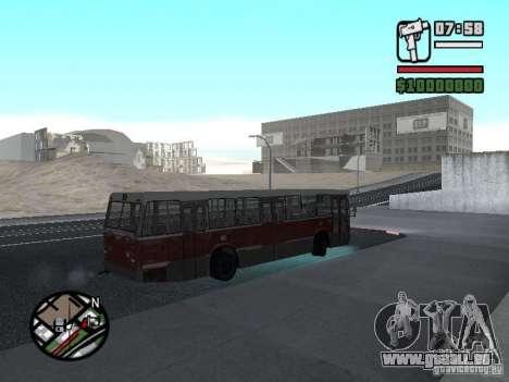 DAF CSA 1 City Bus pour GTA San Andreas vue arrière