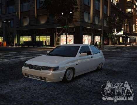 Coupe de VAZ-2112 pour GTA 4 Salon