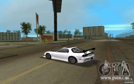 Mazda RX-7 FD3S pour une vue GTA Vice City de la gauche