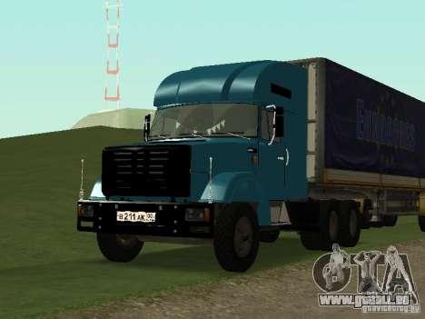 ZIL 133 pour GTA San Andreas