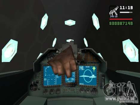ADF01 Falken für GTA San Andreas Seitenansicht