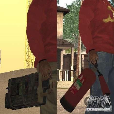 Feuerlöscher von GTA 4 für GTA San Andreas