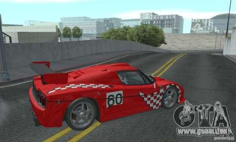 Ferrari F50 GT (v1.0.0) pour GTA San Andreas vue de droite