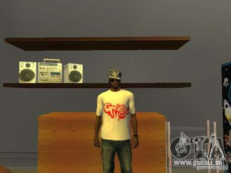 Gangsta T-shirt pour GTA San Andreas