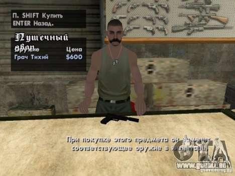 Pak-Inland-Waffen für GTA San Andreas dritten Screenshot