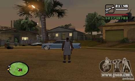Base GROOVE Street pour GTA San Andreas deuxième écran