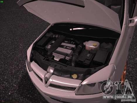 Vauxhall Astra VXR Tuned für GTA San Andreas Rückansicht