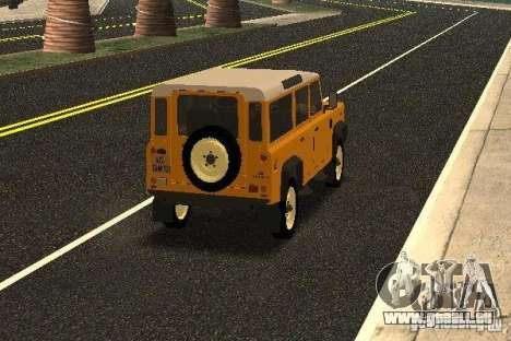 Land Rover Defender 110 für GTA San Andreas rechten Ansicht