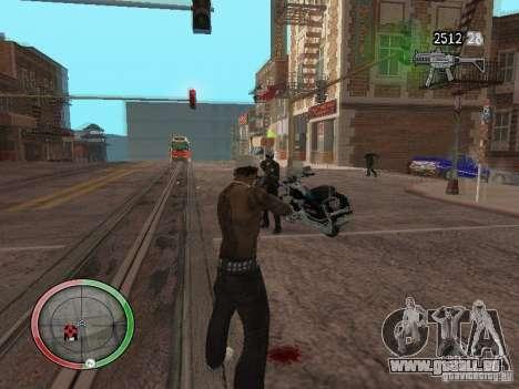 GTA IV HUD v4 by shama123 pour GTA San Andreas troisième écran