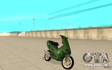 Gilera Runner 50SP Skin 4 für GTA San Andreas
