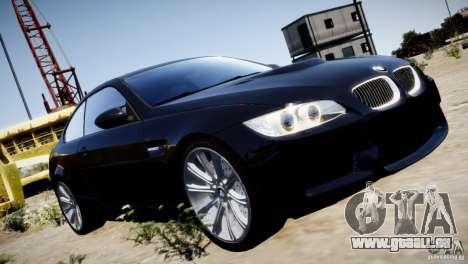 BMW M3 E92 pour GTA 4 Salon