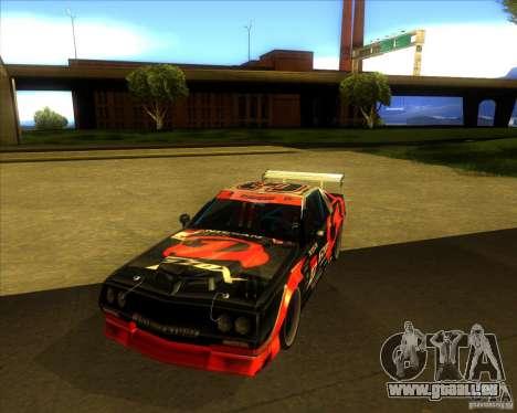 Buffalo D1 für GTA San Andreas Rückansicht
