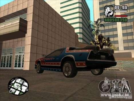 Voitures de Flatout 2 pour GTA San Andreas laissé vue