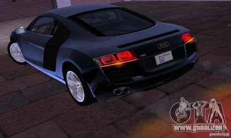 Audi R8 4.2 FSI pour GTA San Andreas vue de droite