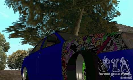 LADA 2170 JDM für GTA San Andreas rechten Ansicht