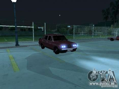 VAZ 2106 pour GTA San Andreas vue de côté