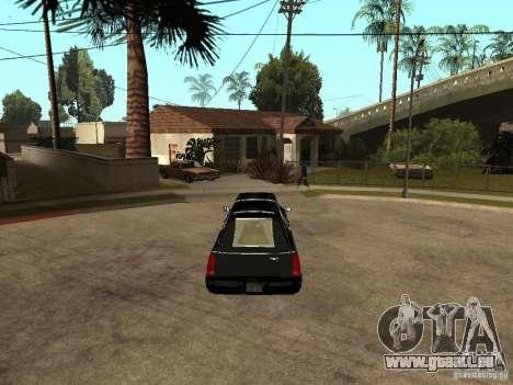 Cadillac DTS 2008 pour GTA San Andreas sur la vue arrière gauche