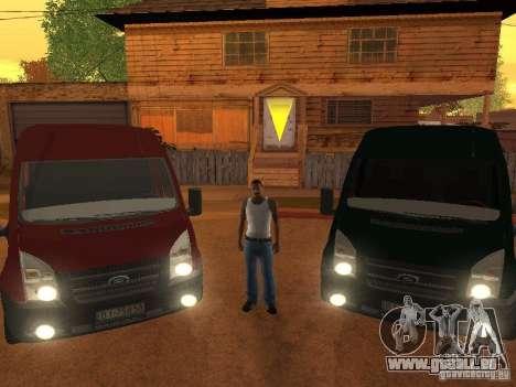 Ford Transit 350L für GTA San Andreas
