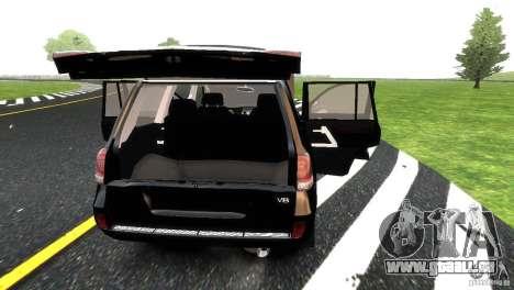 Toyota Land Cruiser 200 RESTALE für GTA 4 Innen