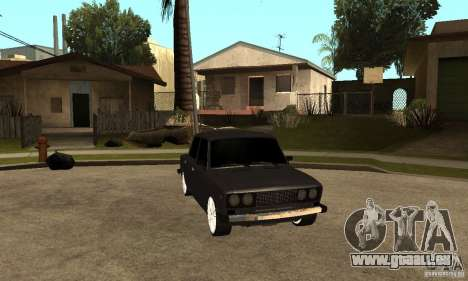 Lada VAZ 2106 LT für GTA San Andreas Rückansicht