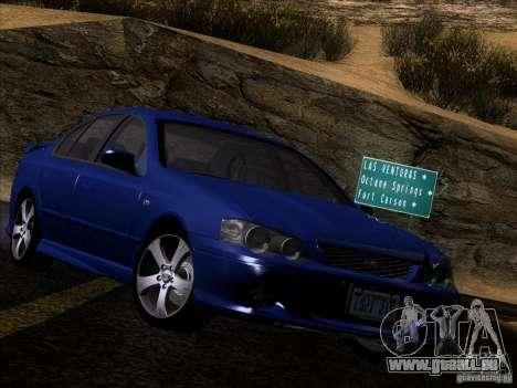 Ford Falcon für GTA San Andreas zurück linke Ansicht