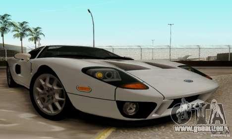 Ford GT 2005 für GTA San Andreas zurück linke Ansicht