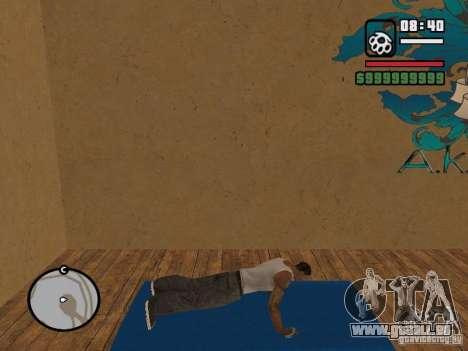 Training and Charging 2 pour GTA San Andreas sixième écran