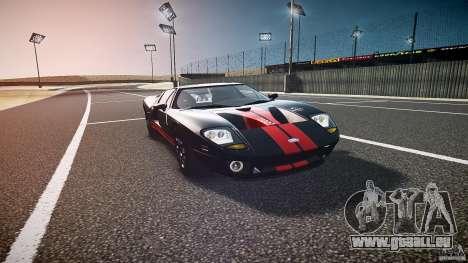 Ford GT1000 2006 Hennessey [EPM] STREET BURNING für GTA 4 Rückansicht