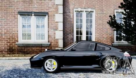 Porsche 911 Turbo S pour GTA 4 Vue arrière de la gauche