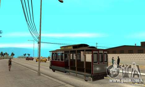 Tram pour GTA San Andreas