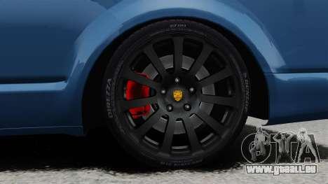 Volkswagen Transporter T5 2010 für GTA 4 Rückansicht
