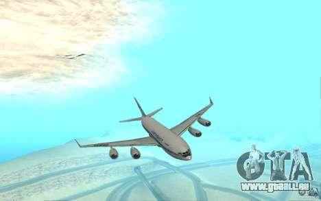 Iliouchine Il-96 pour GTA San Andreas laissé vue