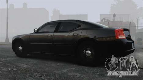 Dodge Charger RT Hemi FBI 2007 für GTA 4 linke Ansicht
