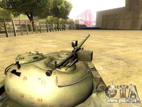Type 59 V2 für GTA San Andreas rechten Ansicht