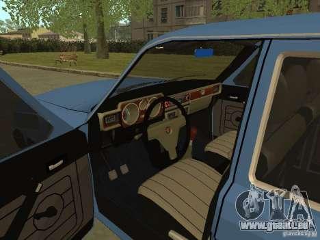 GAZ Wolga 31022 für GTA San Andreas Rückansicht