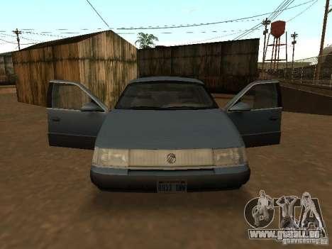 Mercury Sable GS 1989 für GTA San Andreas rechten Ansicht