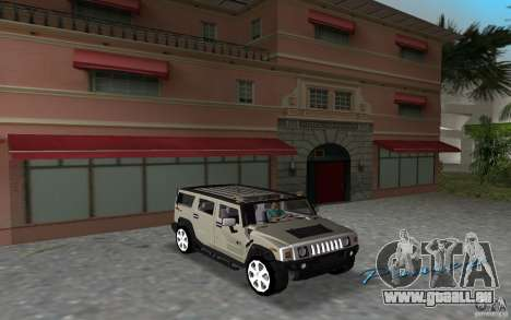 AMG H2 HUMMER für GTA Vice City