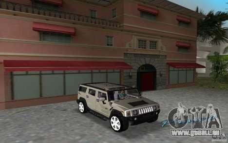 AMG H2 HUMMER pour GTA Vice City